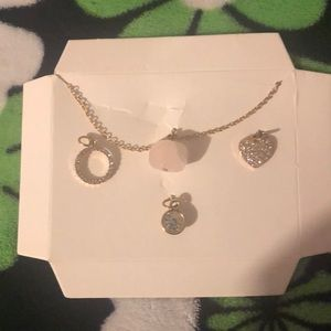 Necklace with add able charms